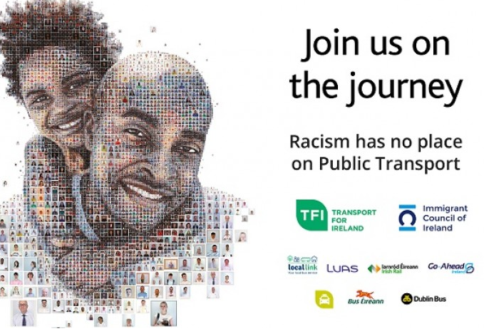 New anti-racism campaign to feature on public transport