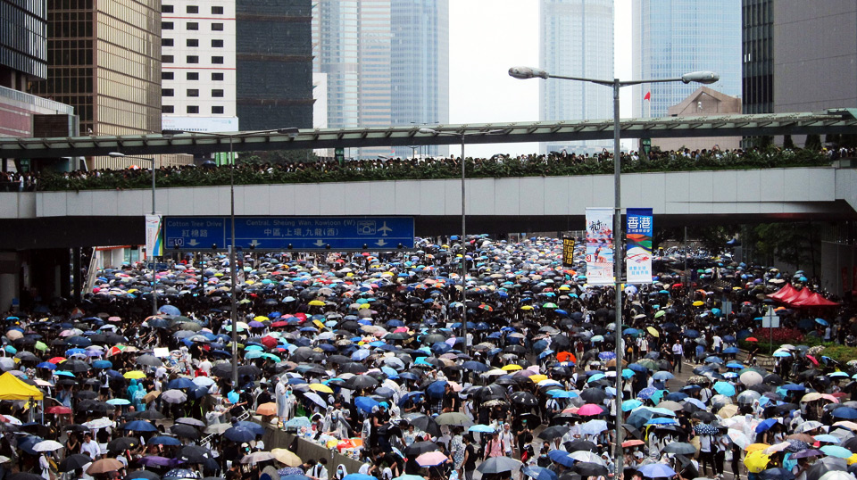 William Huang: Hong Kong's crisis is not just about democracy. It's also about demography.