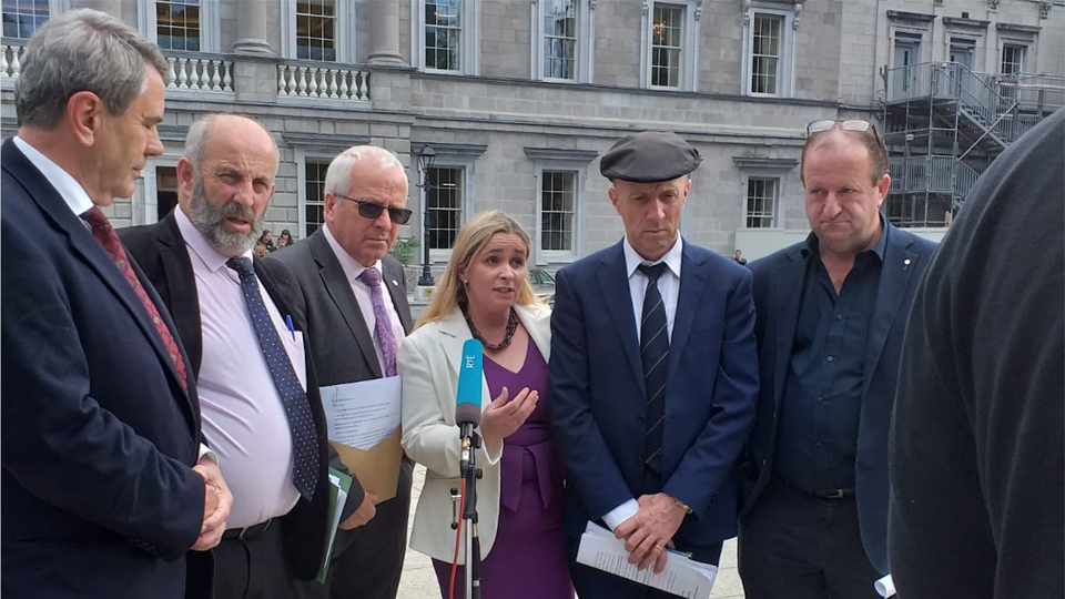 Rural TDs motion on Agri-Food will pass Dáil this evening