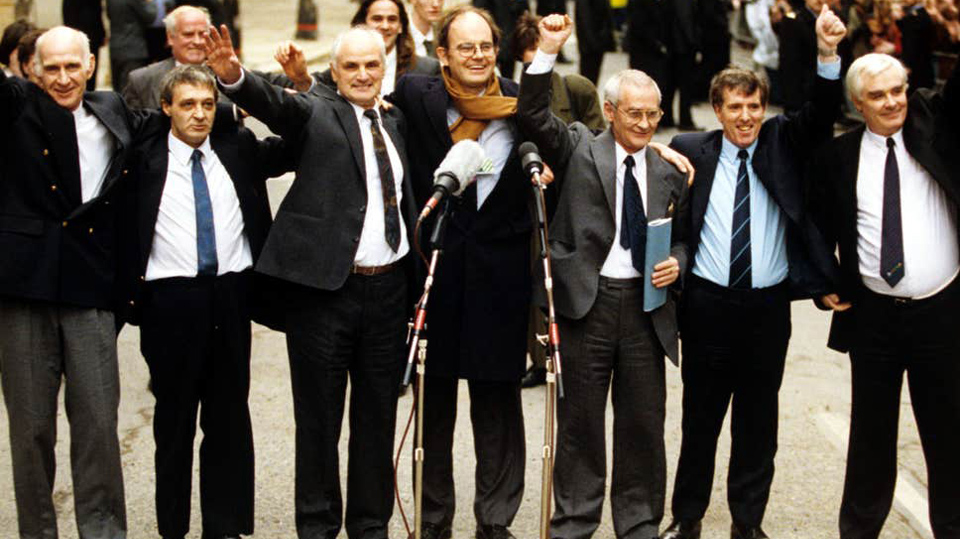 ON THIS DAY: 22 NOVEMBER 1974: Arrest of 6 men, later known as the Birmingham Six
