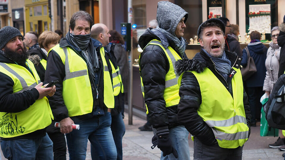 52 weeks: Yellow Vests in France host a year of protests