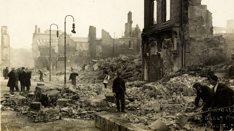 ON THIS DAY: 11 DECEMBER 1920: The burning of Cork City by Black and Tans