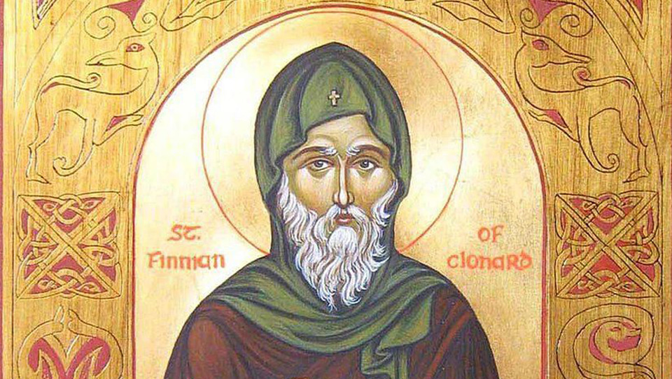 ON THIS DAY: 12th DECEMBER: Feast Day of St. Finnian, father of Irish monasticism