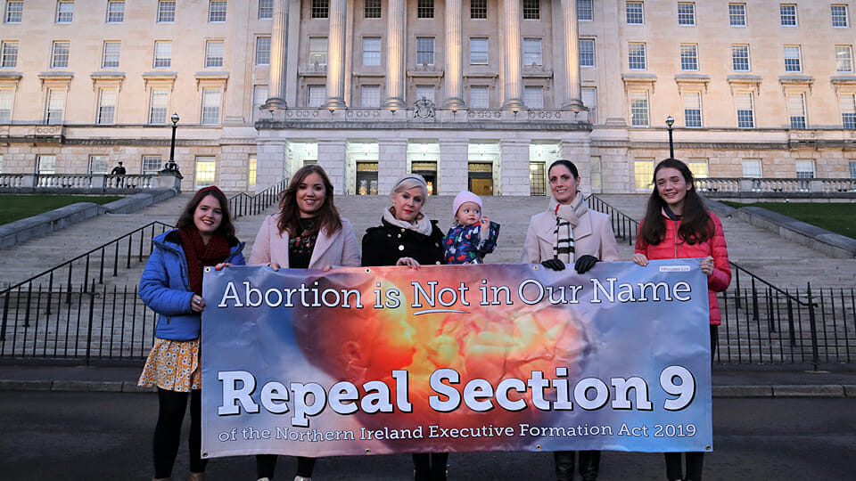 Catholic Bishops say no-one should co-operate with unjust abortion law in north.