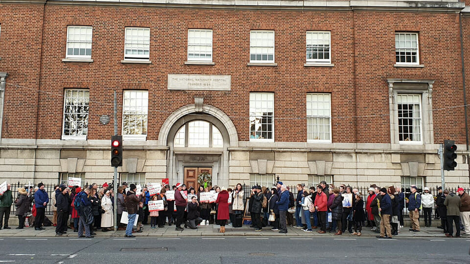 The ICCL 'investigated' protests at abortion centres. They came up withnothing.