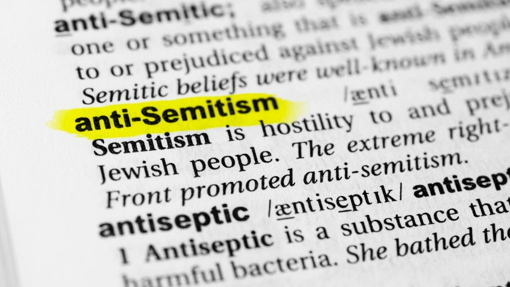 Why does Sinn Fein not accept the agreed definition of anti-semitism?