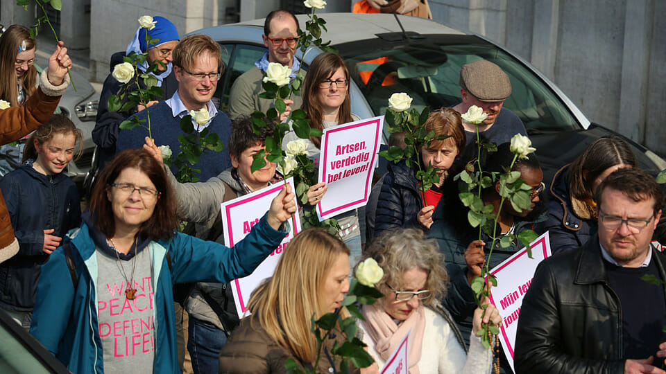 Belgium could criminalise abortion protest