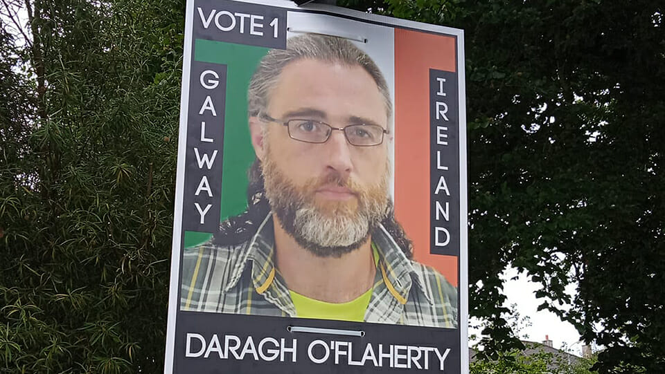 Profile: Ireland's only homeless candidate is tearing up the script