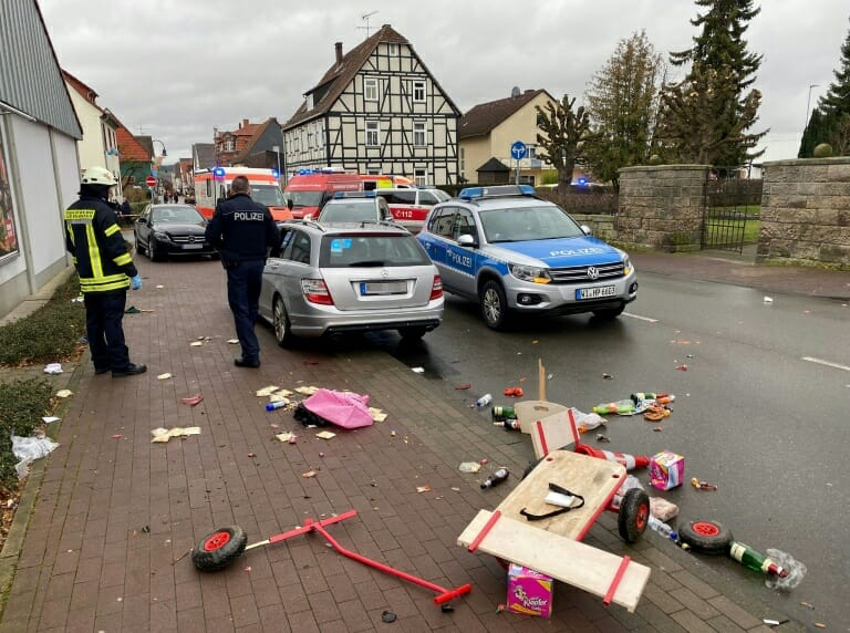 "Germany: Man drove into Lent Carnival crowd ""to kill"", 61 injured"