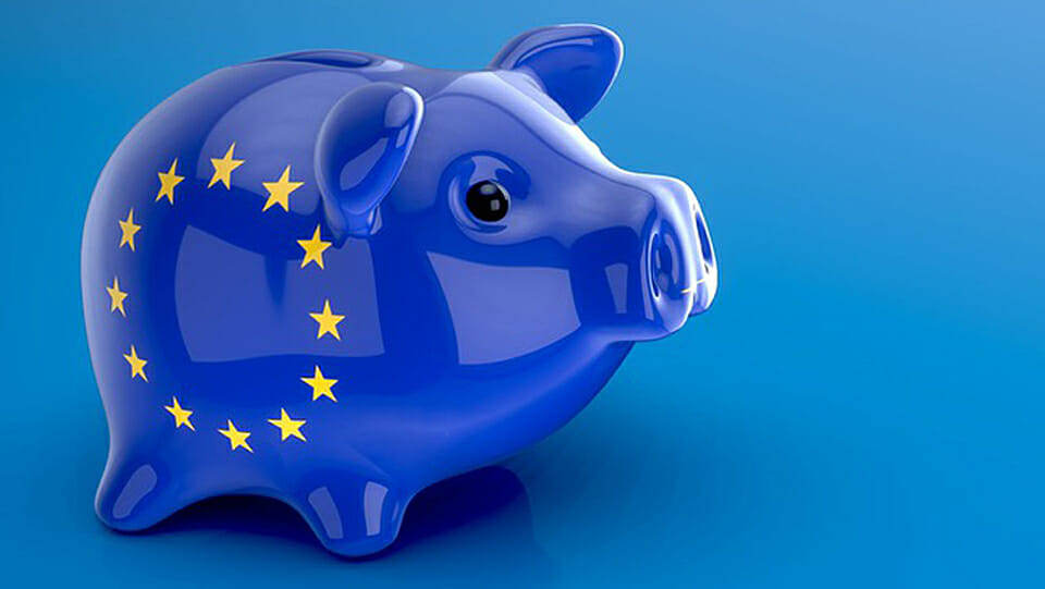 Why is the Government providing false information about Irish EU contributions?