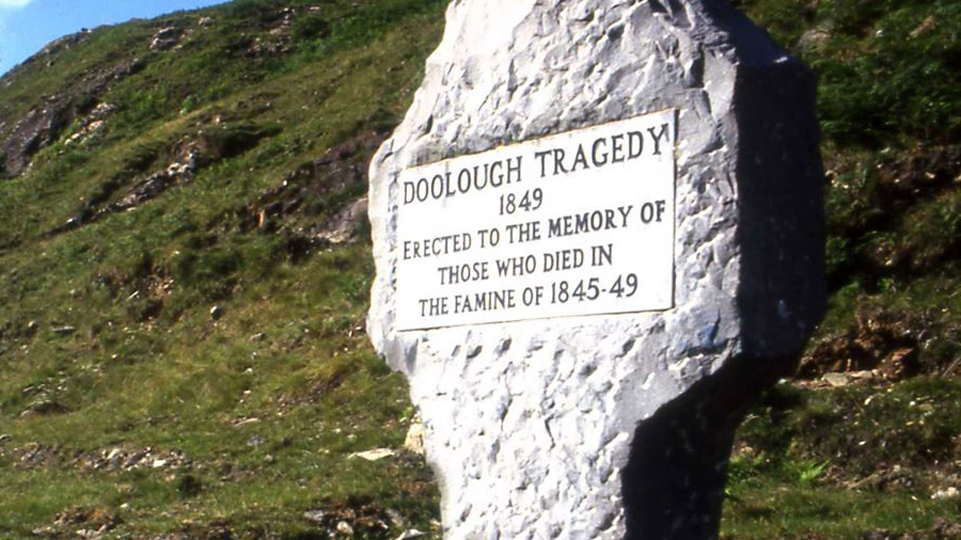 ON THIS DAY: 30 MARCH 1849, Doolough Tragedy