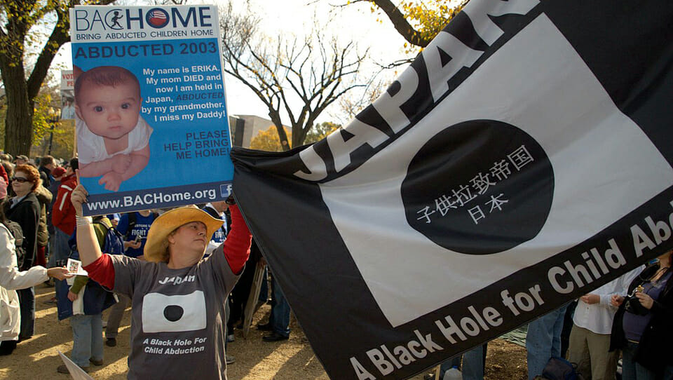 Japan: A black hole for Child abduction