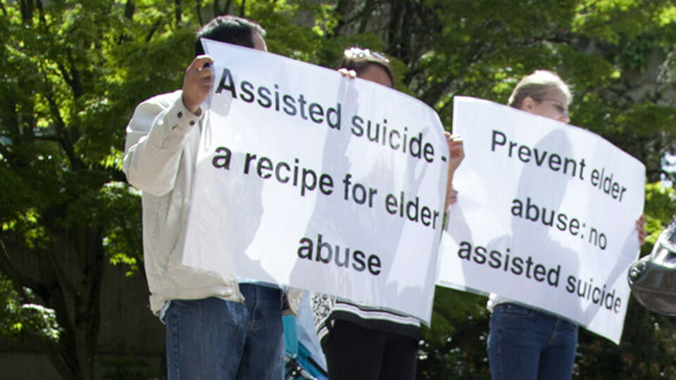 Legalizing assisted-suicide makes mockery of efforts to keep the vulnerable alive