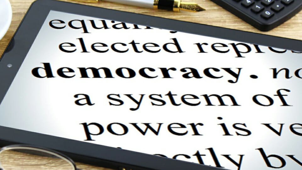 The two countries with the greatest commitment to democracy
