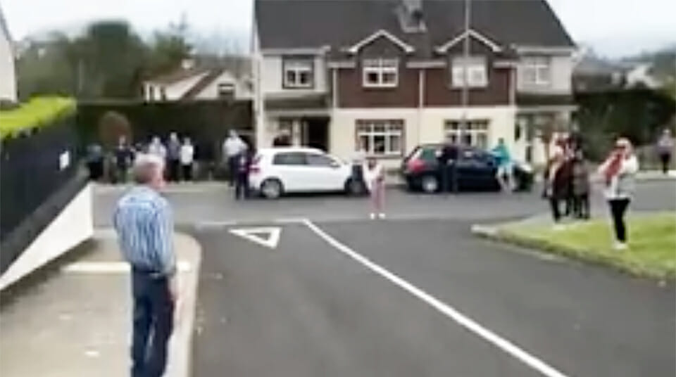 """""""The prayers worked"""": Donegal grandad beats COVID-19 – home to neighbours' applause"""