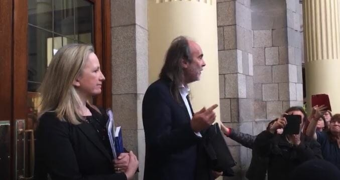 WATCH: John Waters & Gemma O'Doherty vow to pursue State to European court over lockdown if necessary