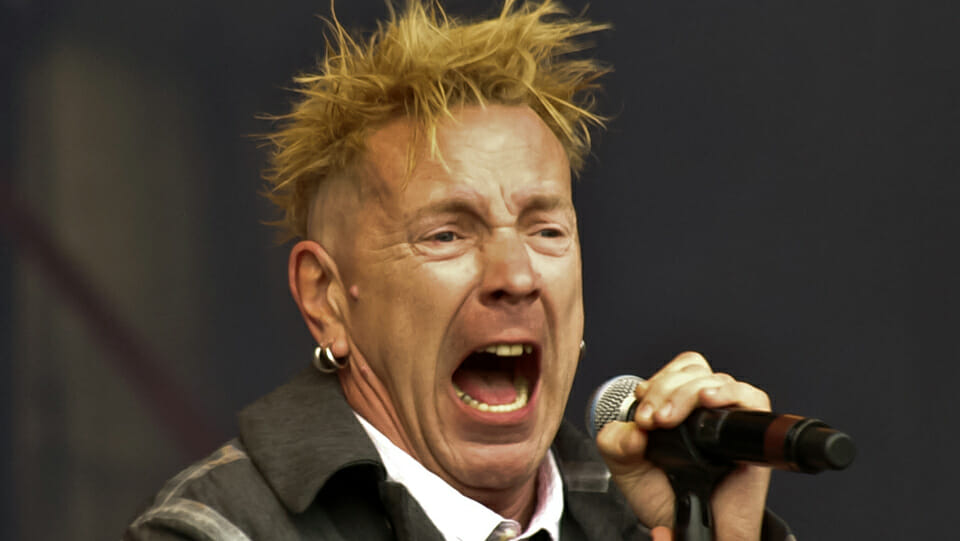 Johnny Rotten never sought the holidays in the sun favoured by the left