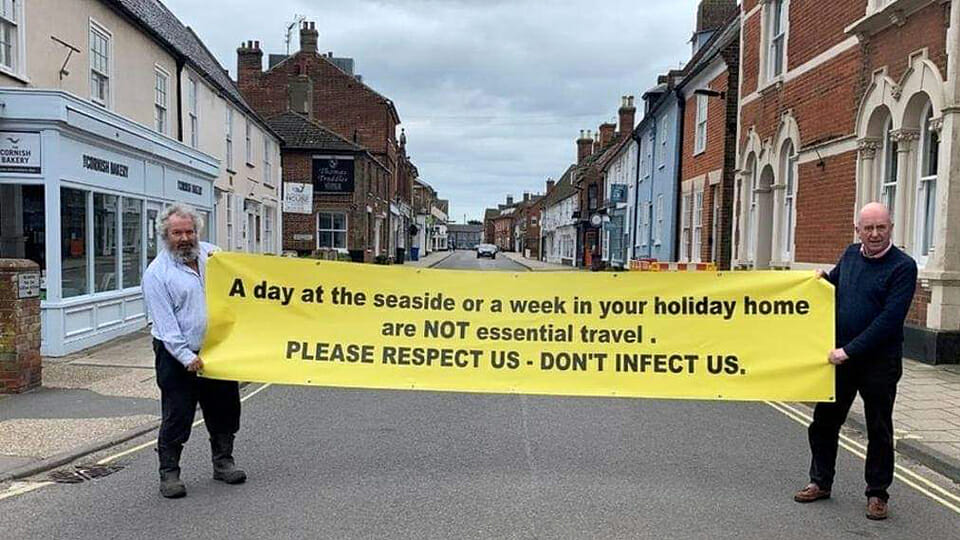 """Respect Us, don't infect us"": locals angered as holiday homes fill up"