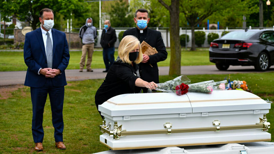 Catholic Church gives burial to abandoned infants found at N.J. recycling centre