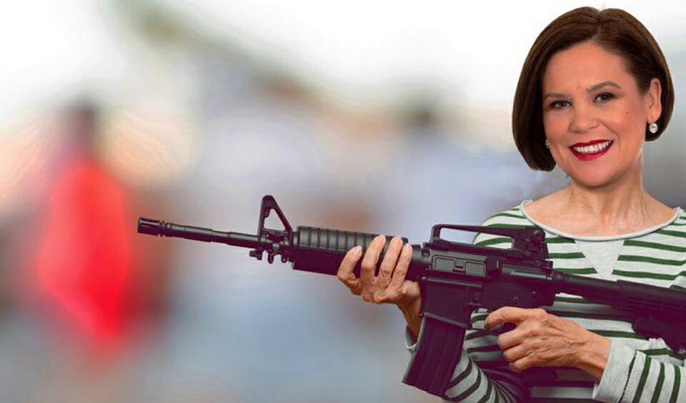 Mary Lou: You bet I'd have been in the IRA, shooting fellas and stuff