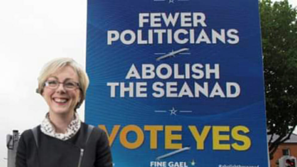 """""""Strokes"""": Ridicule as Regina Doherty appointed to Seanad she campaigned to abolish"""