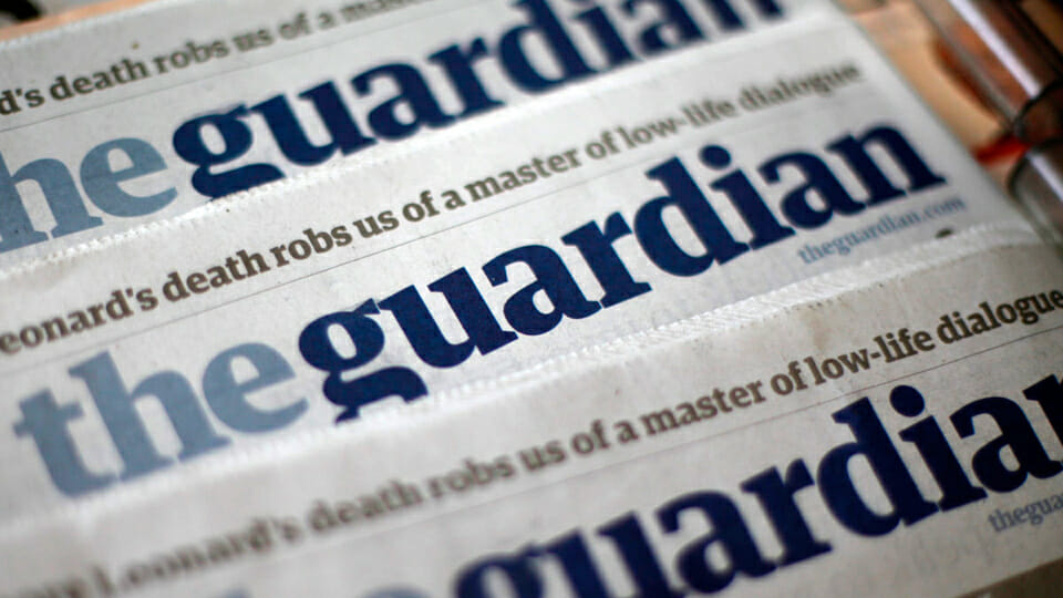Petition grows to shut down ultra-woke Guardian as it was built on slavery