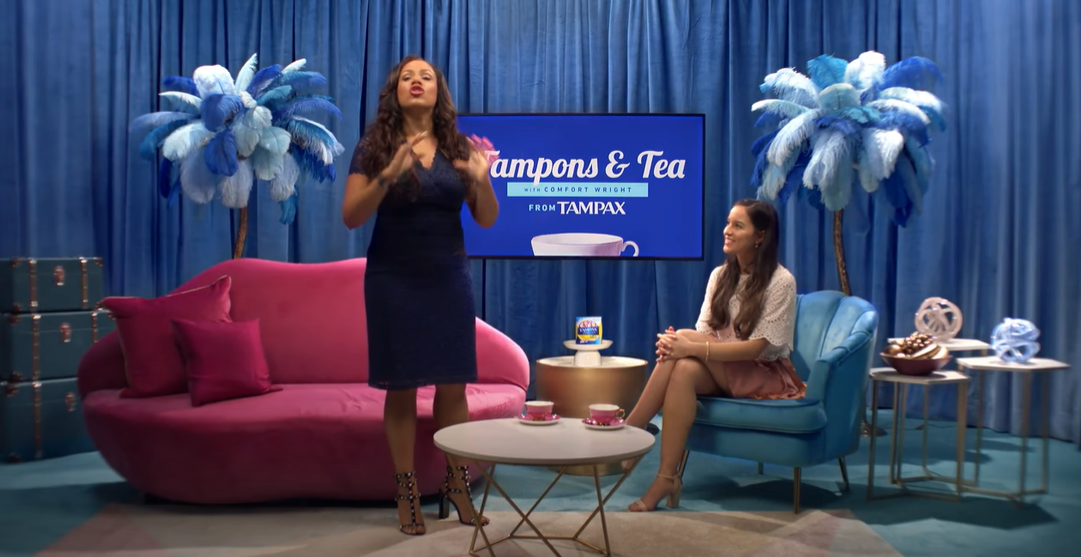 """Ridiculous: """"Get 'em up there"""" Tampon ad banned, for some reason"""