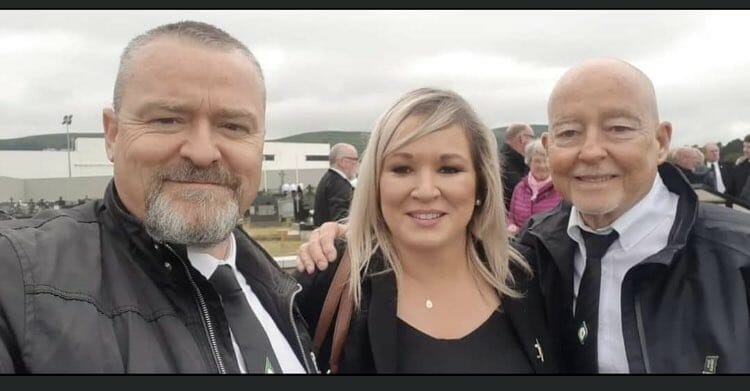 Michelle O'Neill: No, you didn't see me breach social distancing at that funeral