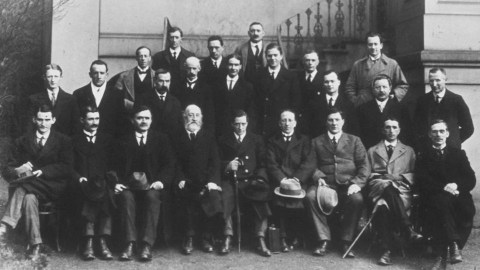 ON THIS DAY: 12 SEPTEMBER 1919 : Dáil Éireann was declared illegal by the British Parliament