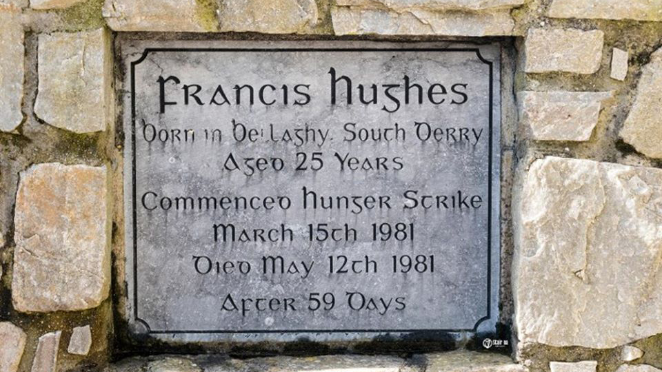 ON THIS DAY: 15 March 1981: Francis Hughes joins Sands on Hunger Strike