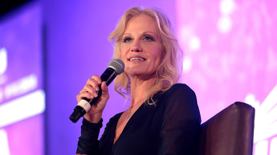 """""""More mama, less drama""""? Why aren't the feminists cheering Kellyanne Conway?"""