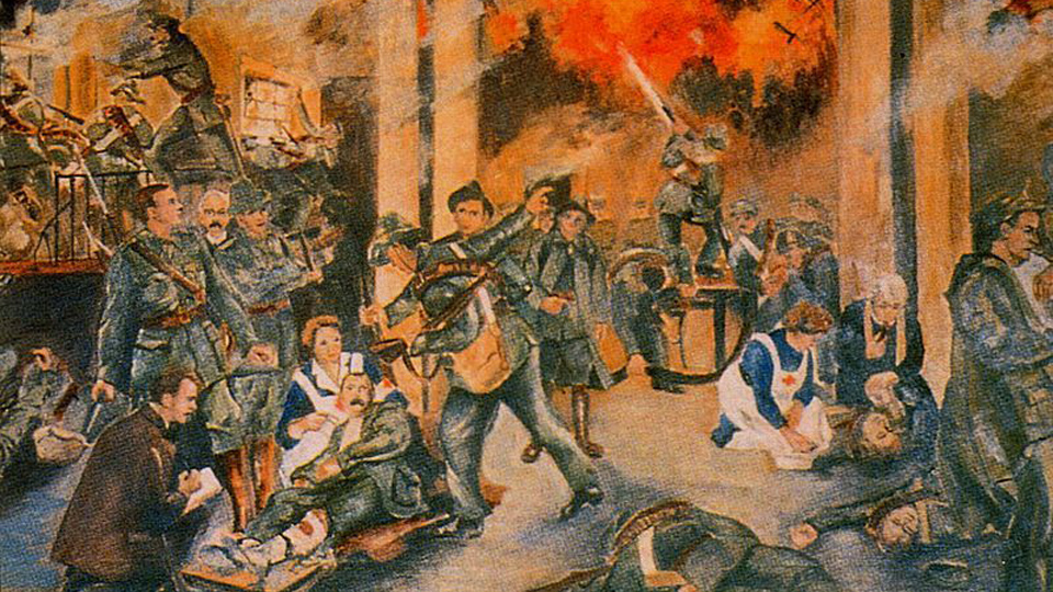 ON THIS DAY: EASTER MONDAY 1916: Easter Rising takes place