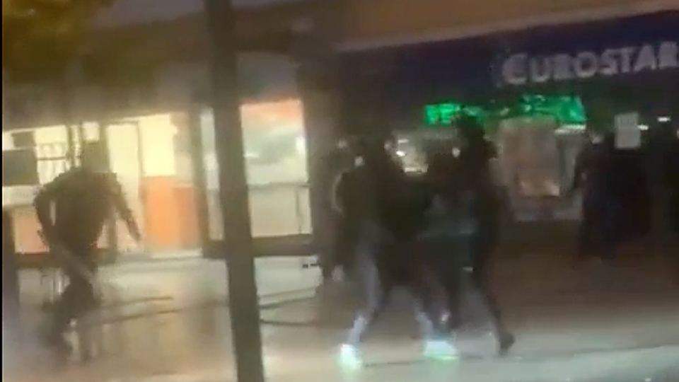 Balbriggan gang violence: shocking stabbing caught on camera