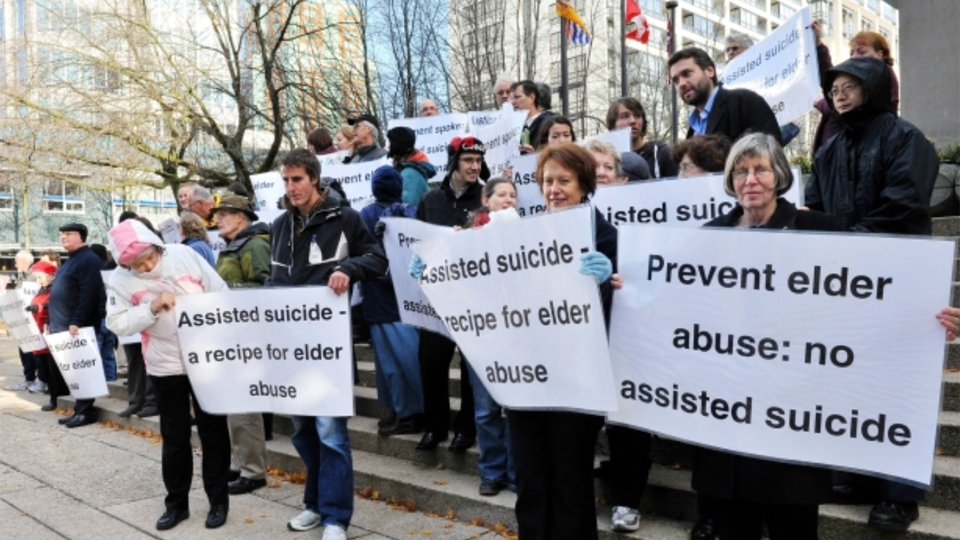 Assisted suicide: Canadian doctor warns it increased FIVE-FOLD in 4 years