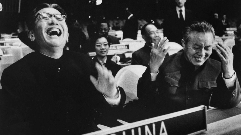 ON THIS DAY: 25 OCTOBER 1971: UN admits China