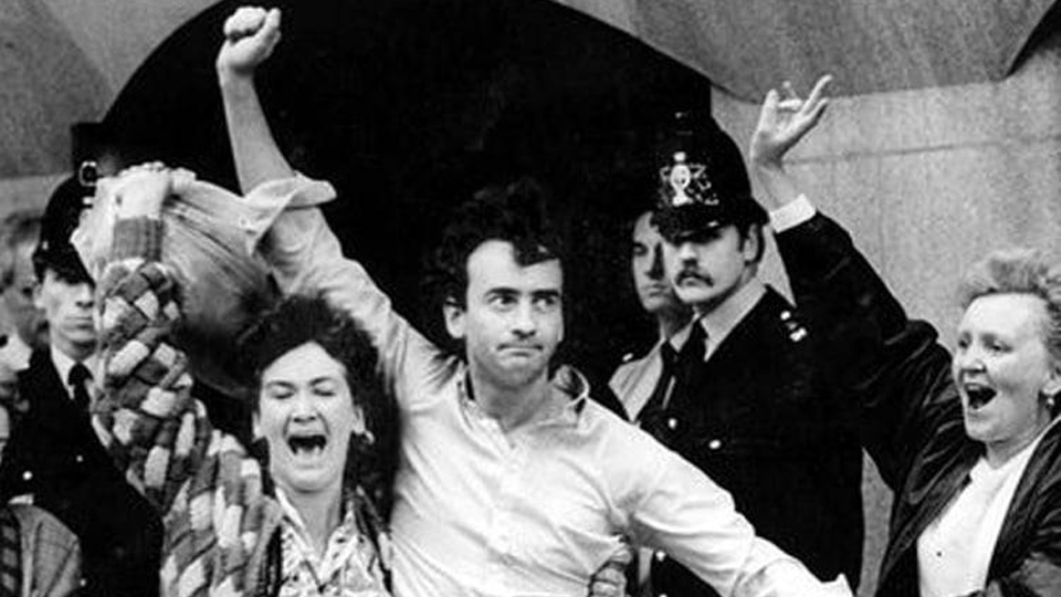 """ON THIS DAY: 19 OCTOBER 1989: """"The Guildford Four"""" are released from prison"""