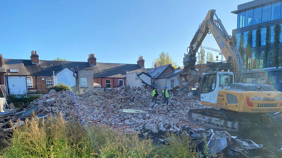 Demolition of 1916 hero O'Rahilly House by Developer is Cultural Vandalism