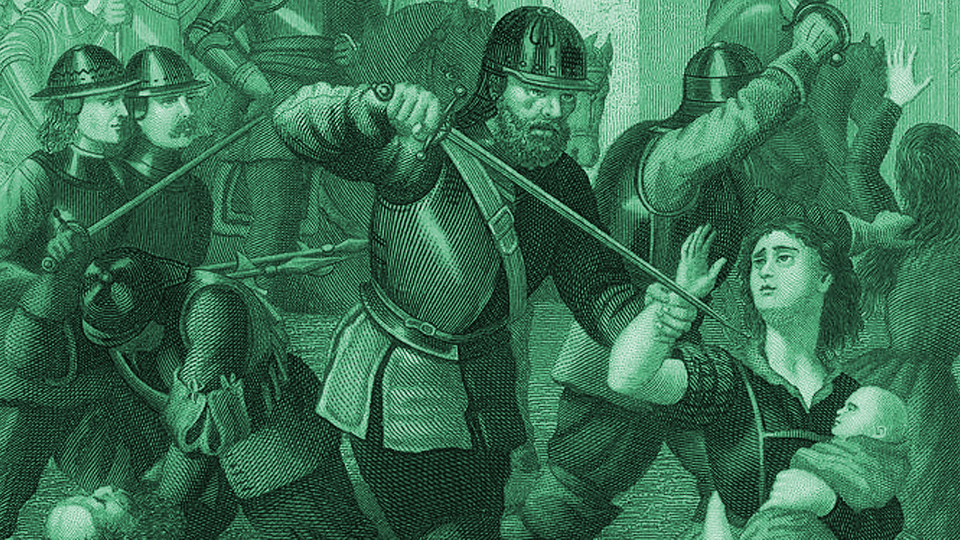 ON THIS DAY: 11 OF SEPTEMBER: Cromwell Massacres Drogheda