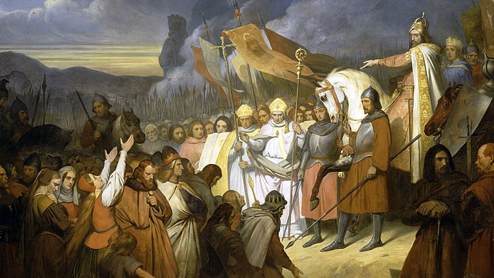 ON THIS DAY: 9 OCTOBER 768: Charlemagne crowned King of the Franks