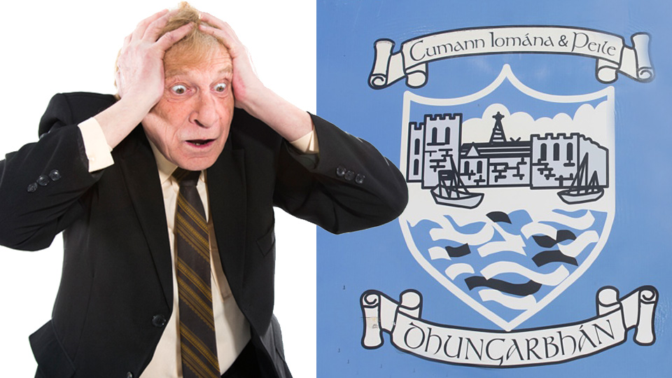 Covid hysteria: The GAA should not have stripped Dungarvan of their title