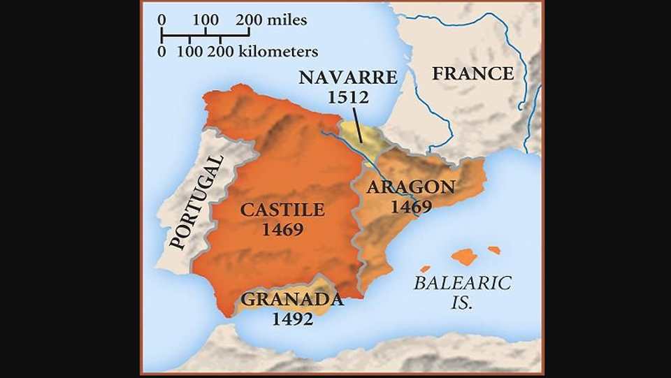 ON THIS DAY: 19 OCTOBER 1469: The birth of Spain