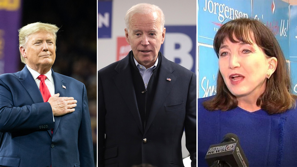 POLL: Who would you vote for, if you could vote, in next week's US Presidential Election?