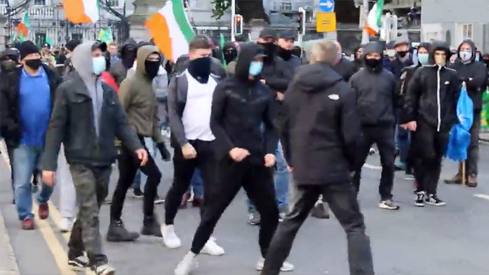 Irish Antifa don't know their history: the hard left weren't 'anti-nazi'