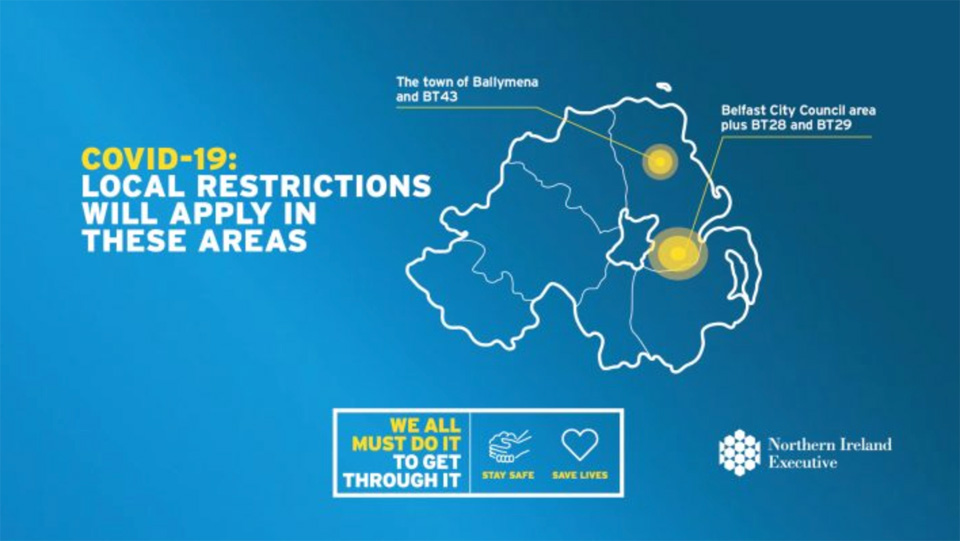 DUP block extension to Covid-19 restrictionsin North