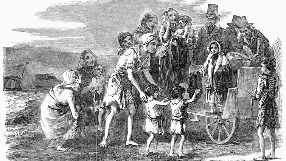 ON THIS DAY: 3 NOVEMBER 1845: Irish Delegation visited LORD Heytesbury to stop the export of food from Ireland because millions were starving