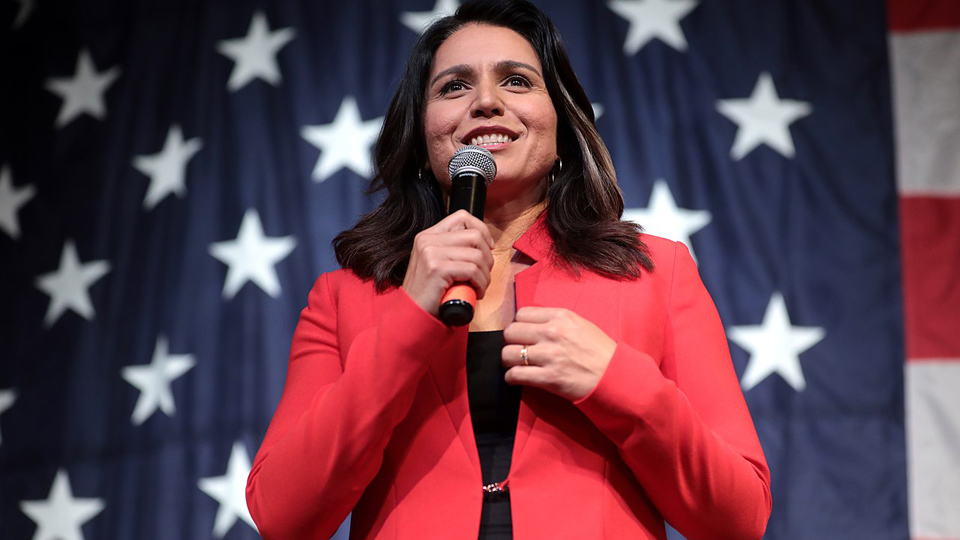 Democrat Tulsi seeks ban on leaving babies to die after failed abortions & males playing female sports