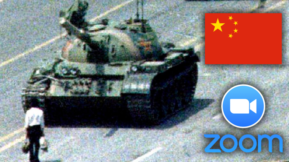 US charges Chinese Zoom executive with disrupting calls about Tiananmen Square Massacre
