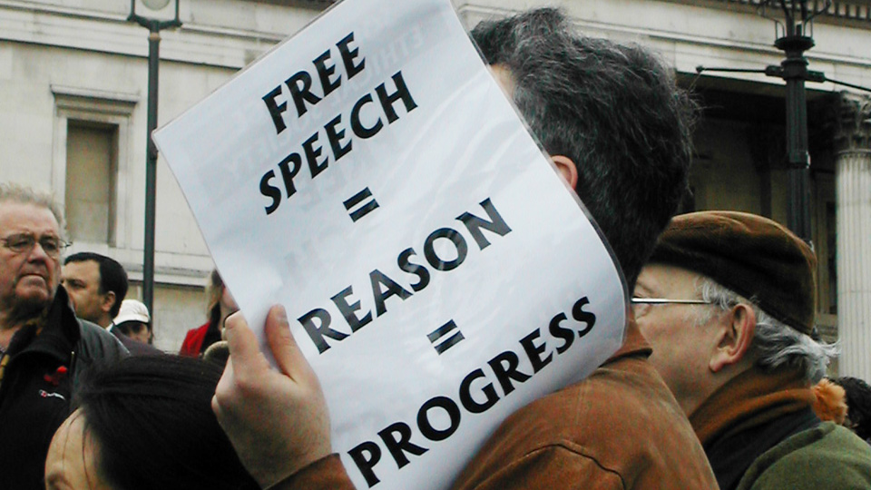 Free speech is a test of character – and RTE failed