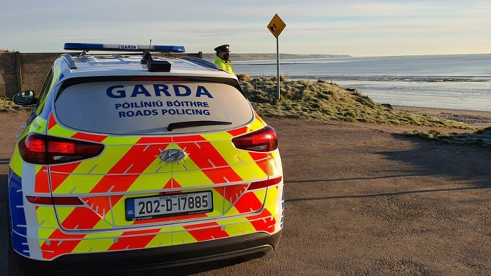 Gardai: We caught a hardened criminal…. Walking on the beach