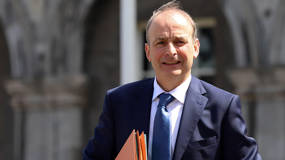 POLL: Should Micheál Martin go to the White House for St Patrick's Day?